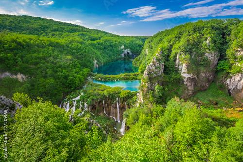Fototapety, obrazy: Plitvice Lakes NP from Vidikovac point #2,  Croatia