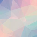 Pastelowy wielokąt geometryczny - 77263305