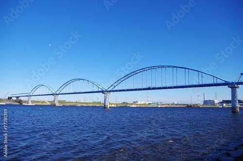 Deurstickers Australië 水道の橋