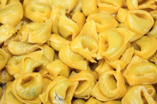 Fotografie, Obraz  tortellini piatto tipico emilia romagna