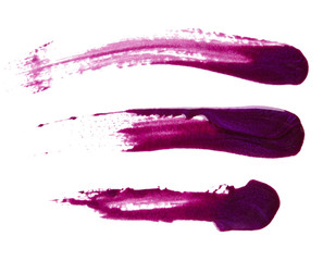Fototapeta Purple nail polish