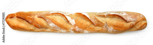 Photo sur Aluminium Boulangerie Baguette de pain - French bread