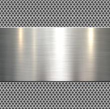 Background, Polished Metal Tex...