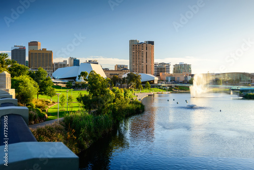 Photo sur Toile Australie Adelaide City