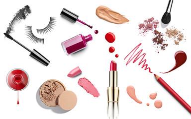 make up beauty ruž za usne lak za nokte tekući puder olovka za maskaru