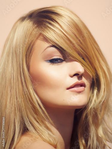 Blonde Summer Woman