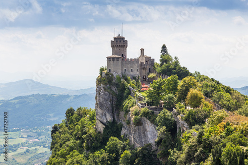 ancient fortress of Republic San Marino