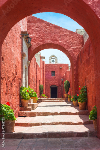 Fotografie, Obraz  Santa Catalina Monastery, Arequipa, it's the most important reli