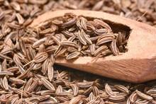 Closeup Of Caraway-seeds