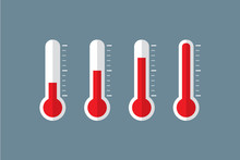 Thermometer Set Illustration