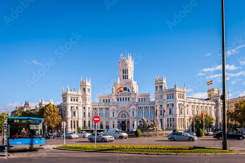 In de dag Madrid Plaza de Cibeles, Madrid