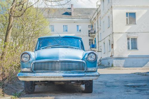 Deurstickers Cubaanse oldtimers Spring fever of veteran classic car