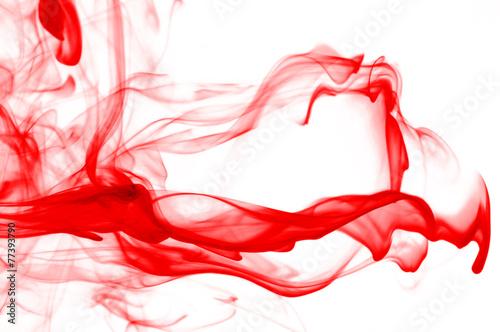 colored smoke Obraz na płótnie