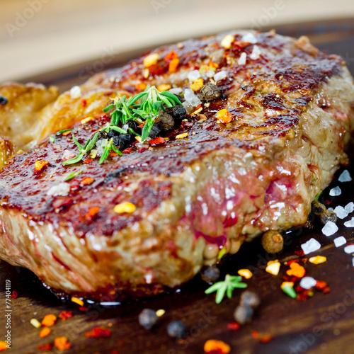 Foto op Plexiglas Japan Steak