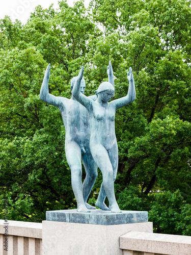 Photo  The Vigeland Park, Oslo