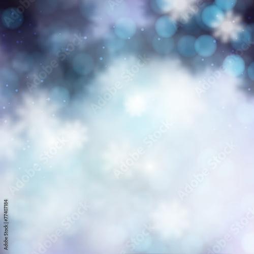 Fototapety, obrazy: elegant Christmas shine background