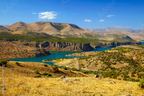 Aluminium Prints Turkey Canyon of Euphrates River. Turkey