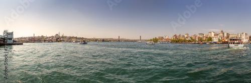 Photo Stands Europa Panorama of Bosphorus... Istanbul, Turkey