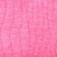 .Crocodile Leather Pink Color