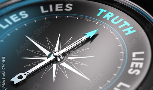 fototapeta na ścianę Prawda