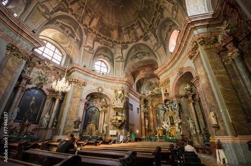 Photo  Trinitarian Church in Bratislava, Slovakia