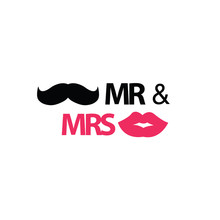 Mr. And Mrs. With Mustache And...