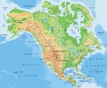 High Detailed North America Ph...