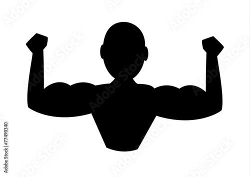 Obraz ikona,siłownia - fototapety do salonu