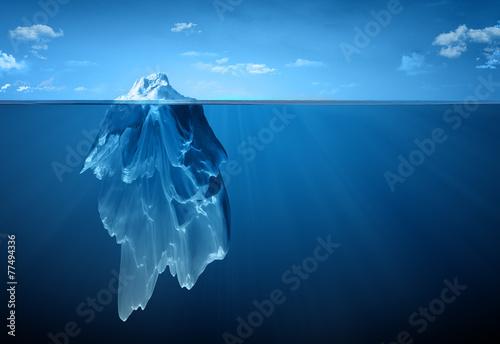 Canvas Print iceberg
