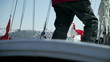 special and very important details of preparing for sailing regatta