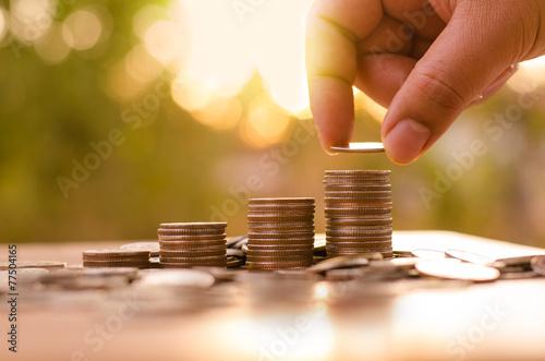 Fotografía  Esperanza del concepto de inversor