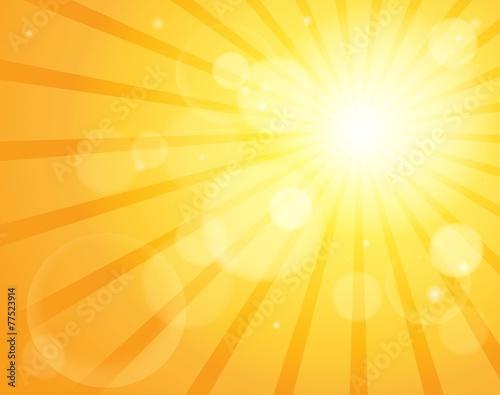Abstract sun theme image 5