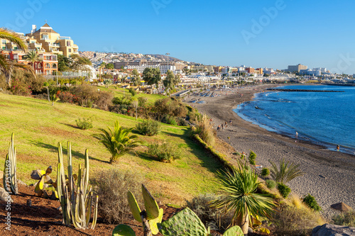 Fotografia  Costa Adeje. Tenerife, Canary Islands, Spain