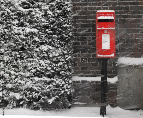 Photo Red postbox