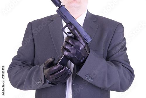 Fotografie, Tablou  Elegant gangster
