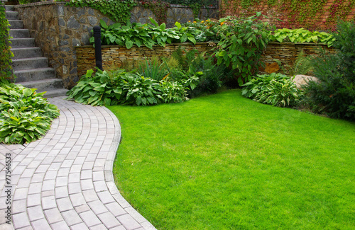 Fotobehang Tuin Garden