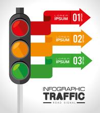 Road Design, Vector Illustration.