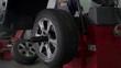 Vulcaniser checks the tire's centrality