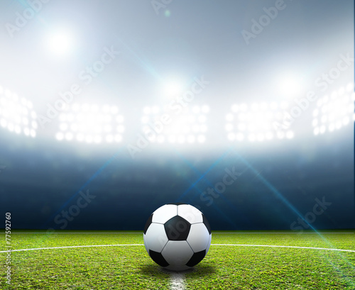 Papiers peints Stadium And Soccer Ball