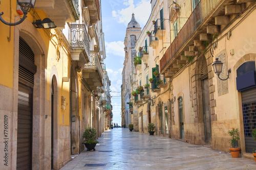 Alleyway. Altamura. Puglia. Italy. Wallpaper Mural