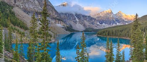 Foto auf AluDibond Kanada Moraine Lake