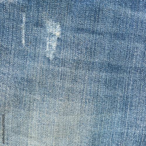 Fotobehang Stof blue denim jean texture background