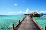 Fototapeta Pomosty - Malediwy
