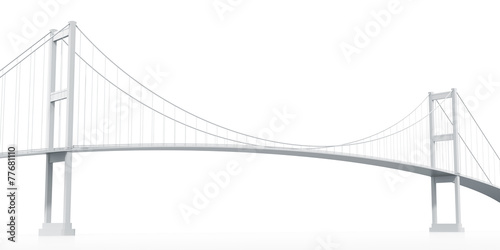 Printed kitchen splashbacks Bridge Suspension Bridge