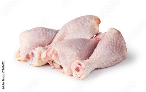 Keuken foto achterwand Kip Pieces of raw chicken meat