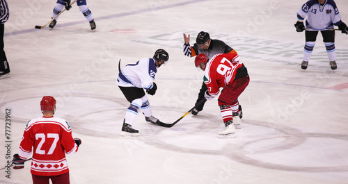 Fotografie, Obraz  Eishockey Spiel