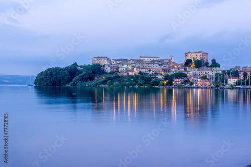 Obraz na plátně  Capodimonte City Lazio Italy