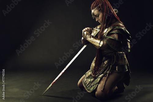Foto  Gebet der Krieger