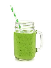 Healthy Green Smoothie With St...