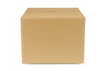 Plain Brown Cardboard Box
